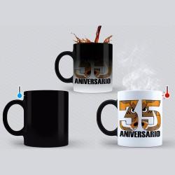Taza mágica 35 aniversario